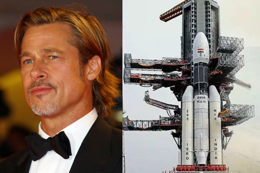 Hollywood actor Brad Pitt shows concern on Chandrayaan 2, calls International Space Station to ask astronaut about it