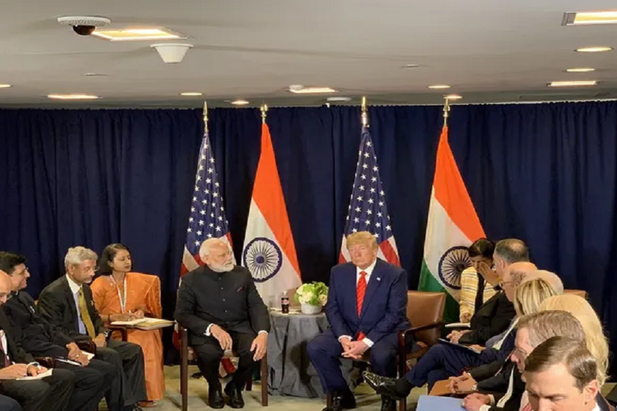 US President Donald Trump and PM Narendra Modi