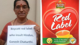 One-year-old Red Label tea advertisement gets trolled on