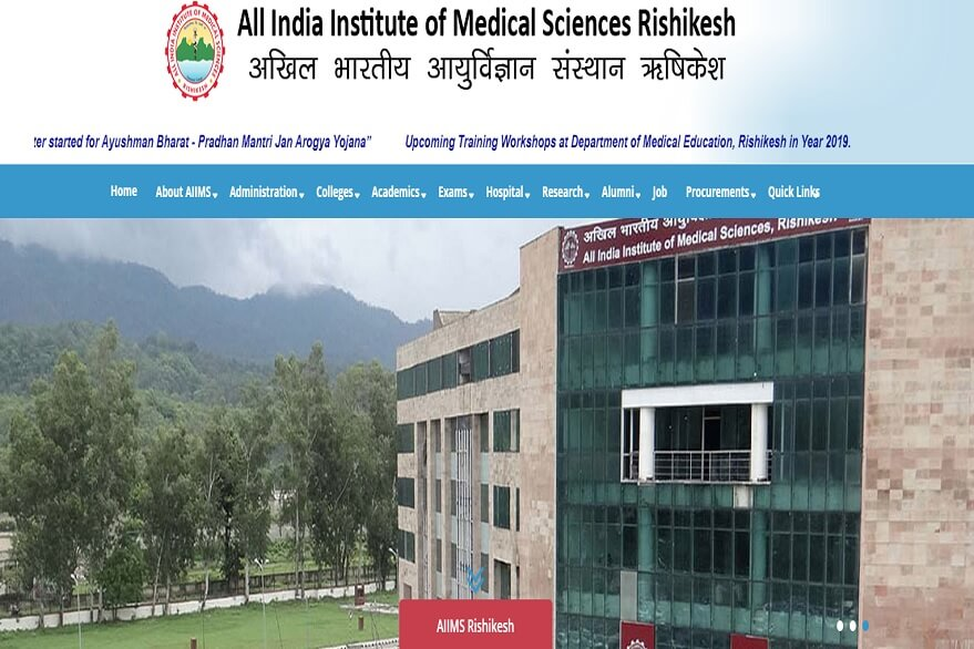 AIIMS Rishikesh invites application for Professor, Assistant Professor, other posts, check details here @aiimsrishikesh.edu.in