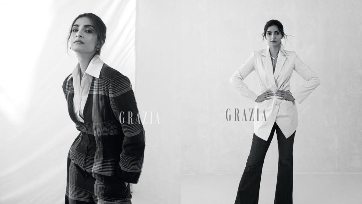 Sonam Kapoor gives the perfect fall vibe in her latest photoshoot, see photos